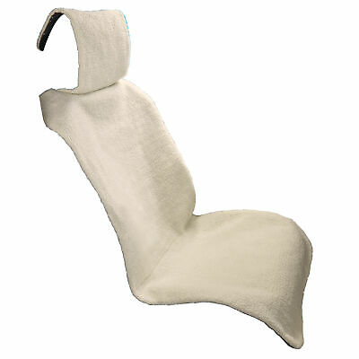 Soft Faux Fleece Car Seats Protector with Straps to Hold in Place