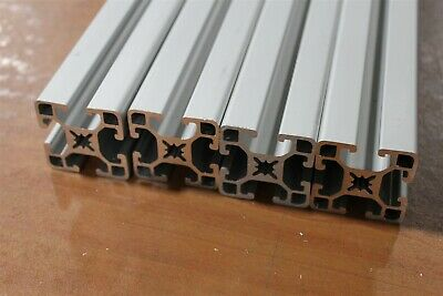 8020 Inc 40mm x 40mm Aluminum Extrusion 40-4040-UL SC Lot 36 (4pcs)