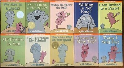 10 Moe Will Elephant and Piggy lot great condition