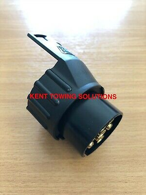 NEW 7 Pin Vehicle to 13 Pin Trailer Tow Ball Electrics Adapter Maypole 6005B ✅✅✅