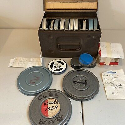 Lot of 15+ Reels B&W 1940s 1950's 1960's+ Family Home Movies - 8mm Film SCOUTS