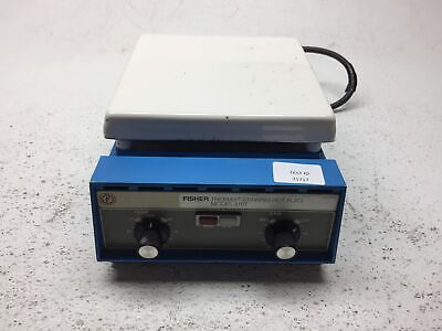 Fisher Thermix Model 310T Stirring Hot Plate - Tested Working - Fair Condtion