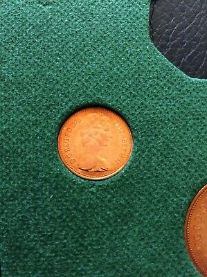 "1975 HALF PENNY 1/2p in "" Proof "" Condition Extremely Collectable Piece"