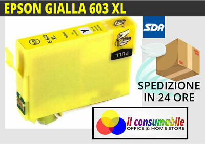 Cartuccia GIALLO T603XL Compatibile Per Epson XP2100 XP2105 XP3100 XP3105 XP4100
