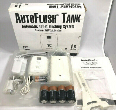 Technical Concepts Autoflush Tank Automatic Toilet Flushing System White 750831