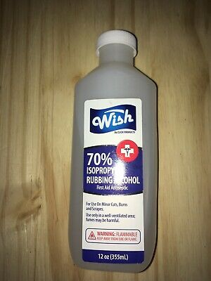 Wish 70% Isopropyl Rubbing Alcohol Same Day Shipping ON SALE TIL 05/26