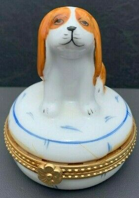 Cavalier King Charles Spaniel Collectible Trinket Box