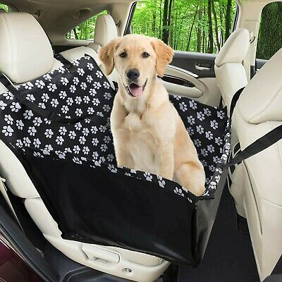 Funpet Car Booster for Dogs,Waterproof Dog Seat Covers Pet Car Blanket