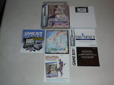 Final Fantasy IV Nintendo Game Boy Advance Game Complete Boxed