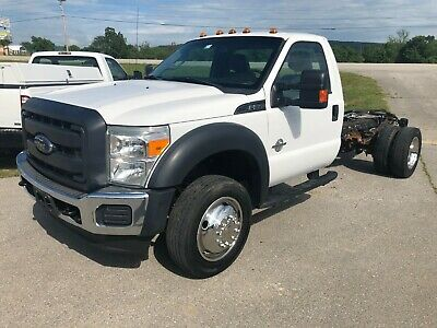 """2013 Ford F-550 6.7L 72CA 11ft 2013 Ford F550 Super Duty 6.7L Powerstroke Automatic 72""""CA 11ft Frame Runs Great"""