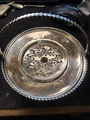 Sterling Silver Basket With 2 Inserts