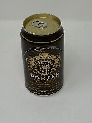 "Henry Weinhard's ""Porter"" Brown Colored Beer Can"