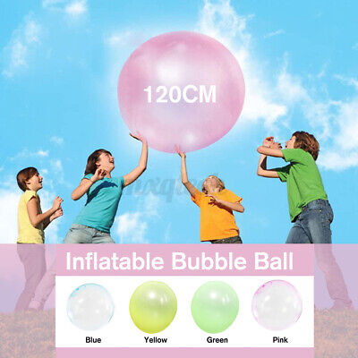 120cm Wubble Bubble Ball Super Inflatable Antistress Outdoor Water Ballons Toy