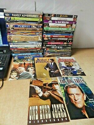 Dvd Movie Lot Of 51 Action Western Drama Tv Series Classics Present More #1