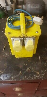 3.3Kva Site Transformer 110V Twin Outlet 16 Amp Brand New
