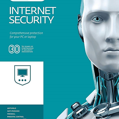 ESET Internet Security 2020 License | Genuine Key Code | 1 Device Activation