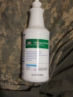 Clorox Healthcare Hydrogen Peroxide Cleaner Disinfectant 32 Oz New Medical Grade