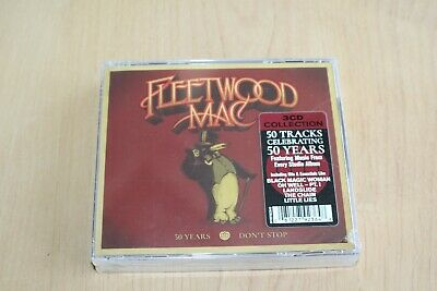 Fleetwood Mac – 50 Years - Don't Stop 3CD Sealed / FREE WORLDWIDE SHIPPING