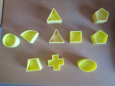 VINTAGE TUPPERWARE SPARE SHAPES for SHAPE SORTER BALL
