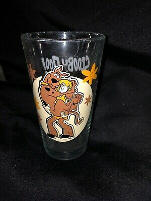 Scooby-Doo! Shaggy Glass Tumbler ICUP Scooby Doo Hanna-Barbera Made in USA 6""