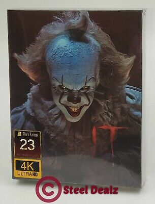 STEPHEN KING'S IT (2017) [4K UHD + 2D] Blu-ray STEELBOOK [FILMARENA] LENTI. #143