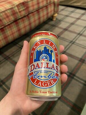 Skyline Dallas Amber Lager Limited Edition Can