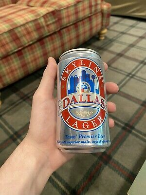 Skyline Dallas Lager Limited Edition Beer Can