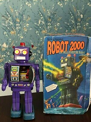 vintage robot 2000 by schylling
