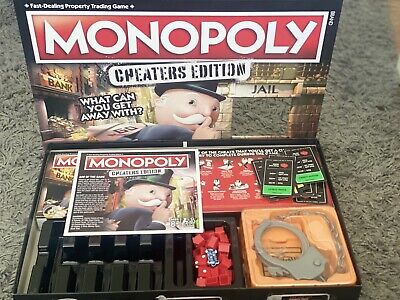Monopoly Cheaters Edition Board Game.