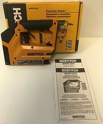"(MA6) Bostitch BTFP71875 Heavy Duty 3/8"" Pneumatic Crown Stapler"