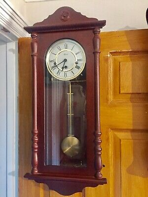 Vintage Hermle Westminster Chime Wall Clock.