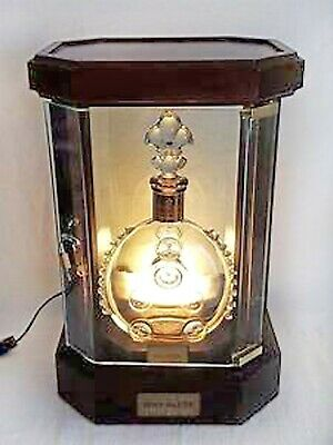 Original Remy Martin Louis XIII Grande Champagne Cognac Lighted Display Case