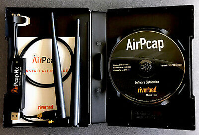 Riverbed AirPcap NX Adapter and Software