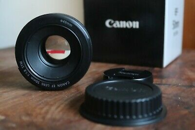 Canon EF 50mm F/1.8 STM Lens Auto focus & Manual focus