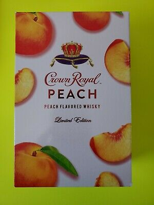 🔥 Royal Crown Peach (Box,Bag,Empty bottle) (Limited edition) (use bag as mask)
