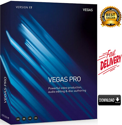 MAGIX SONY VEGAS Pro 17.0 ✅ Life Time ✅ Fast Delivery ✅ wind 32/64