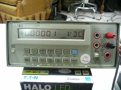 hp 3478a working 5.5 digit LCD Digital DMM multimeter with GPIB