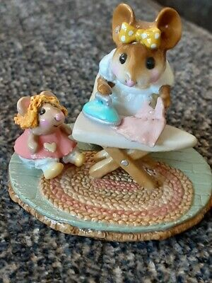 Wee Forest Folk M-291a Ironing Dollie's Dress