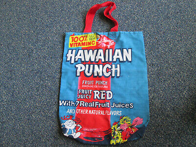 Hawiian Punch Fruit Punch  Cloth Tote  Bag