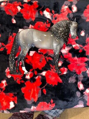 Peter Stone Horse Grey Andalusian by A.D