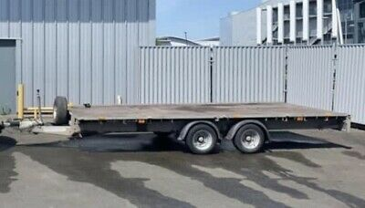 2017 Ifor Williams LM166G Car Plant Trailer