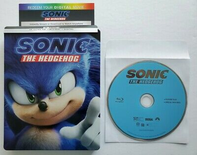Sonic The Hedgehog Blu-ray Disc (No Case) *OR* Sonic The Hedgehog 4K Digital