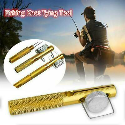 Practical Knot Line Tying Knotting Tool Manual Portable Fast Fishing Supplies E