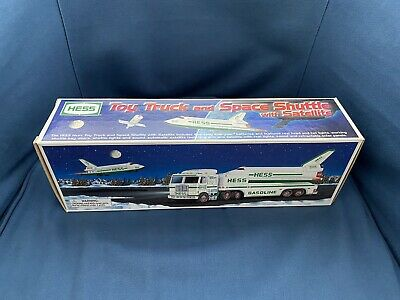 HESS 1999 Toy Truck and Space Shuttle - Mint in Box - Never Removed from Box
