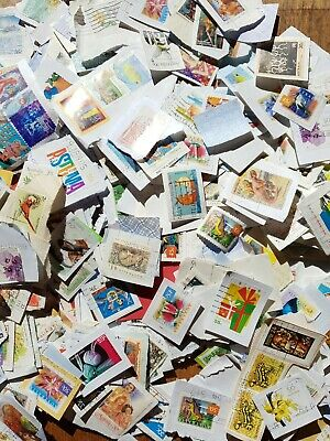 Bulk used apx 2500 Australian stamps set lots collection bargain sale