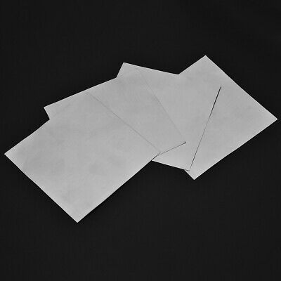 5pcs High Purity 99.9% Pure Zinc Sheet Plate for Science Lab 140*140*0.2mm USA