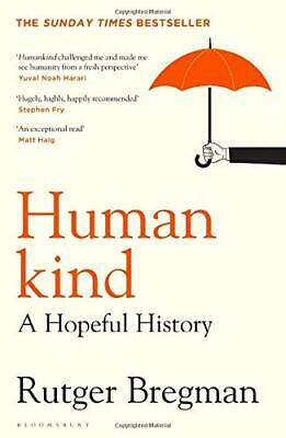 Humankind: A Hopeful History New Hardcover Book