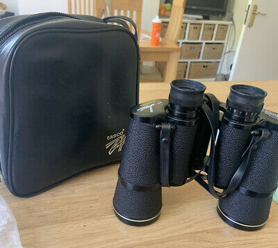 TASCO 12x50mm FULLY COATED WIDE ANGLE ZIP FOCUS BINOCULARS