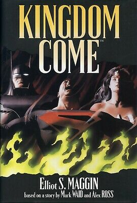 Kingdom Come. Signed by Maggin,Ross & Waid. Slipcased Hardback First print