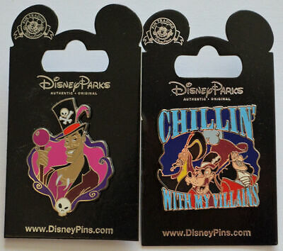 Disney Parks 2 Trading Pins Doctor Facilier Chilling With My Villains Set New